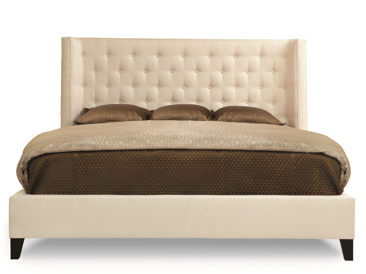Maxime king platform wing bed beds bedroom robb stucky for Robb and stucky bedroom furniture