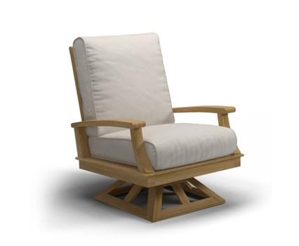 Outdoor Wicker Swivel Chair