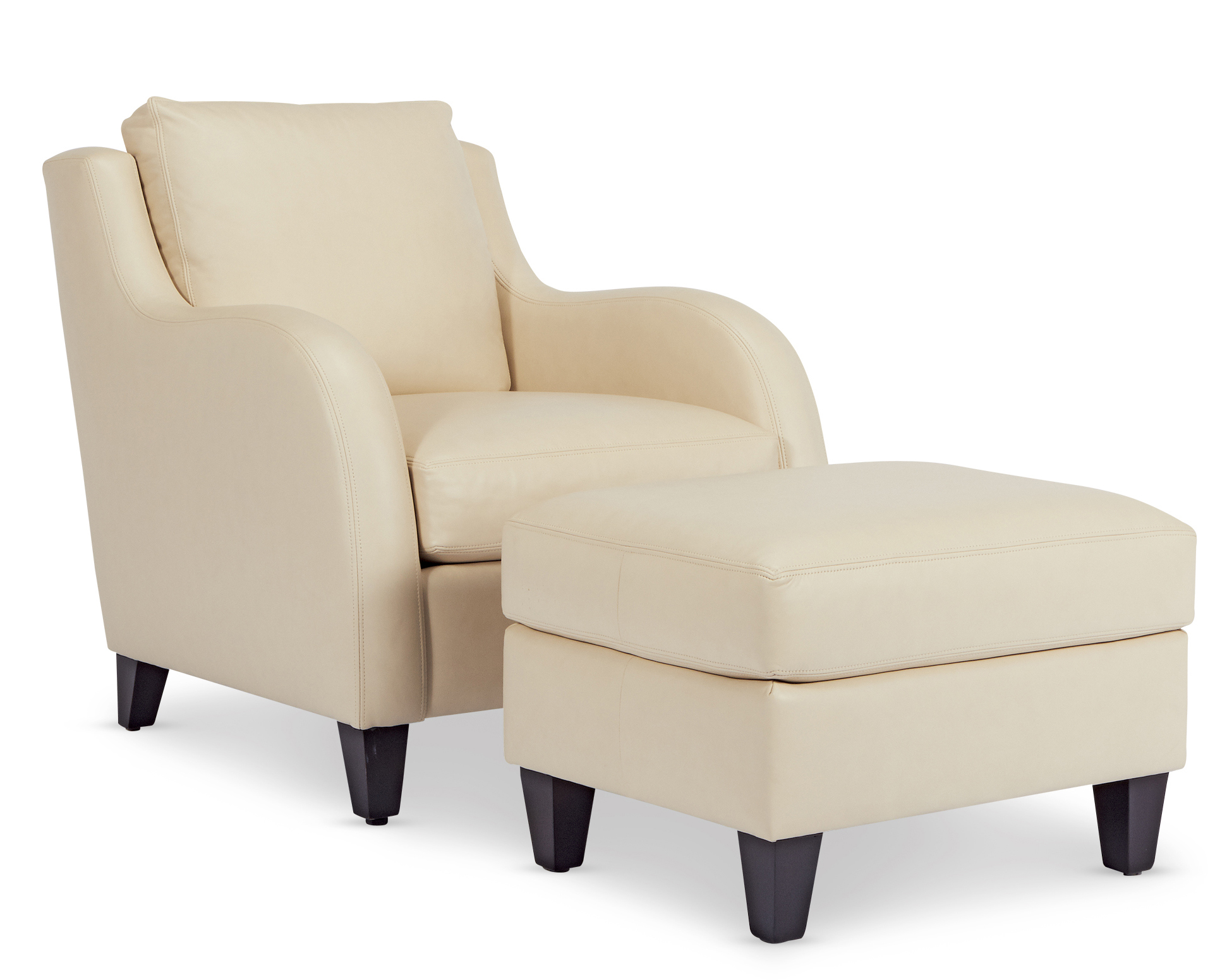 Scoop Chair And Ottoman