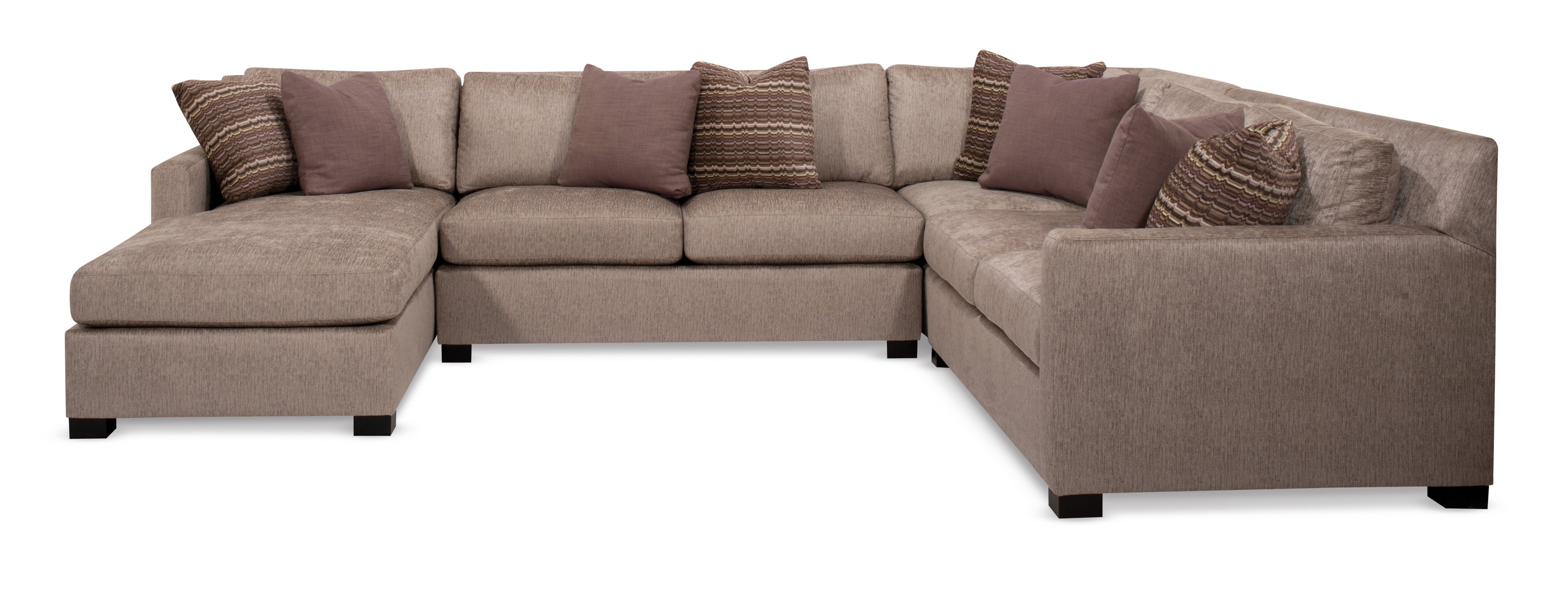 Kelsey Four Piece Sectional  sc 1 st  Robb u0026 Stucky : mccreary modern sectional - Sectionals, Sofas & Couches