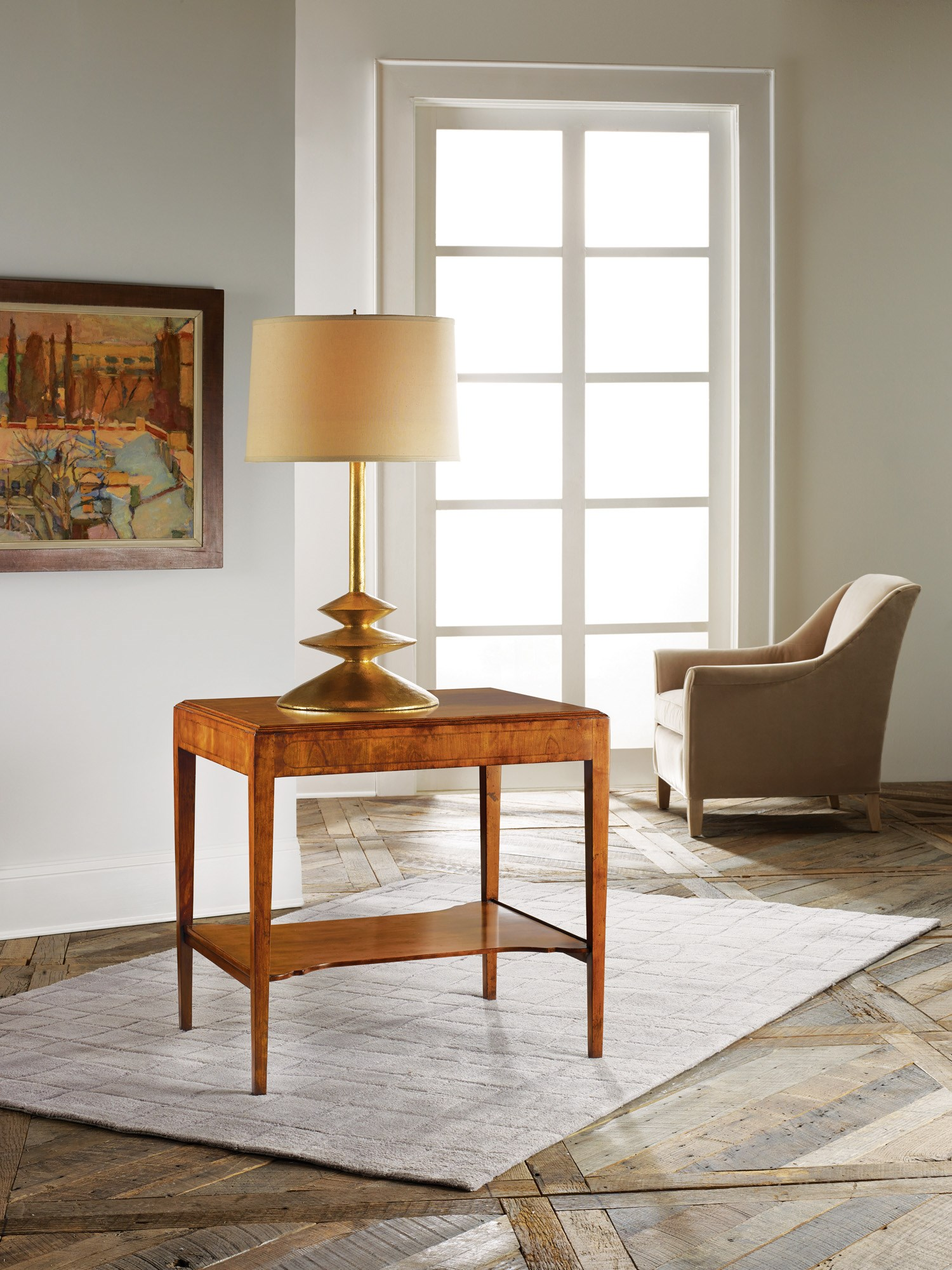Large Georgian End Table - End & Occasional Tables   Modern History