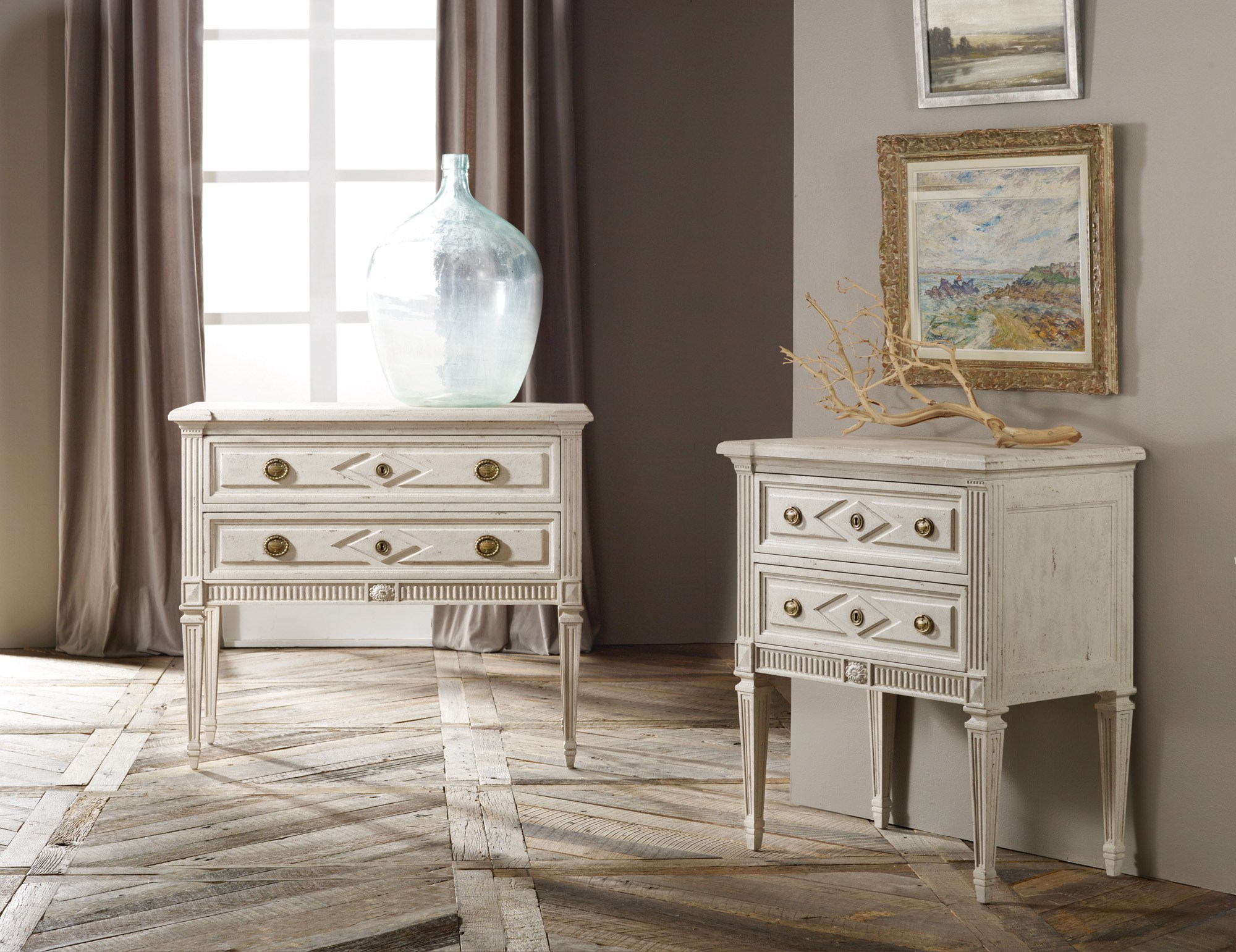 Modern Furniture History paris bedside chest - chests | modern history