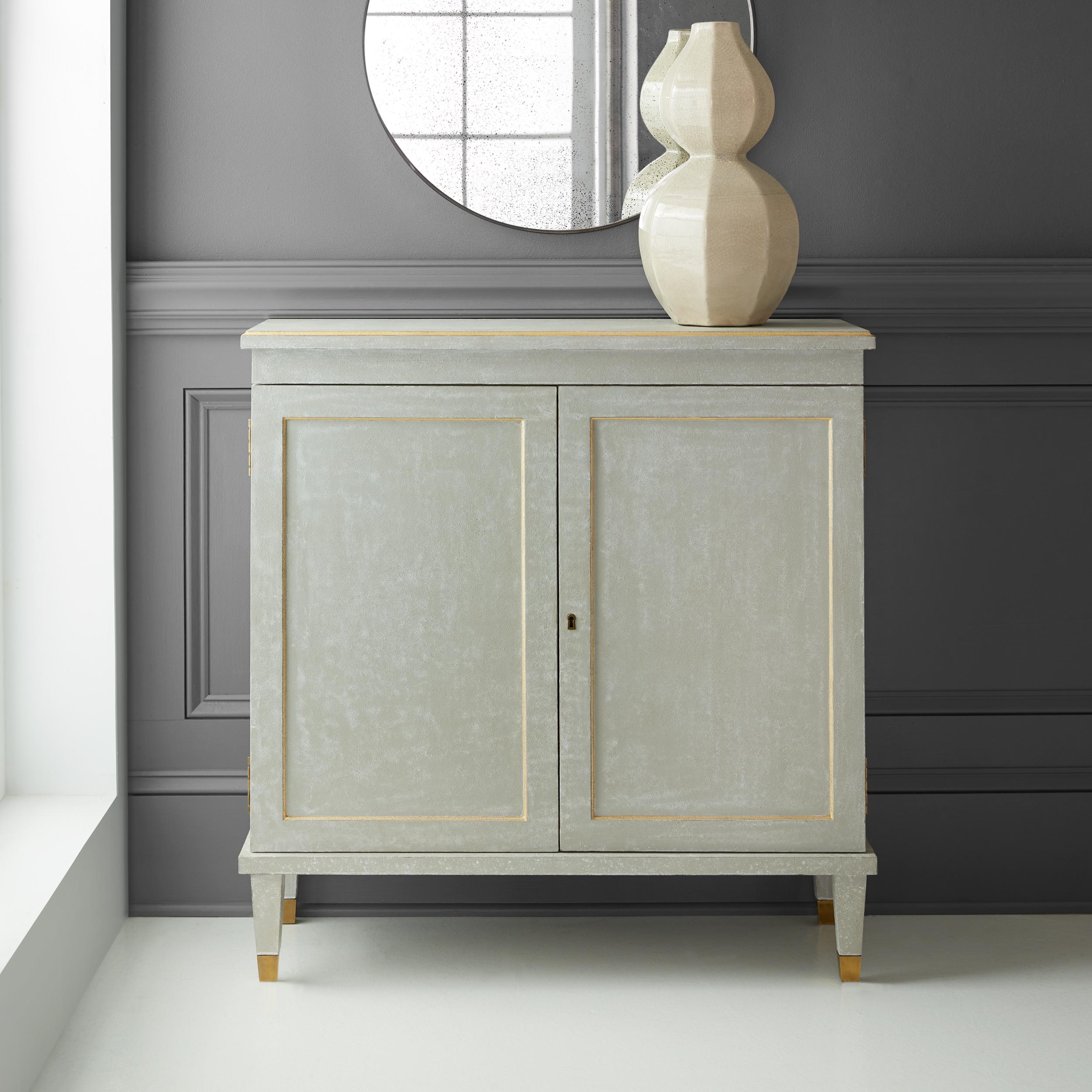 Gustavian Two Door Cabinet & Gustavian Two Door Cabinet - Chests | Modern History