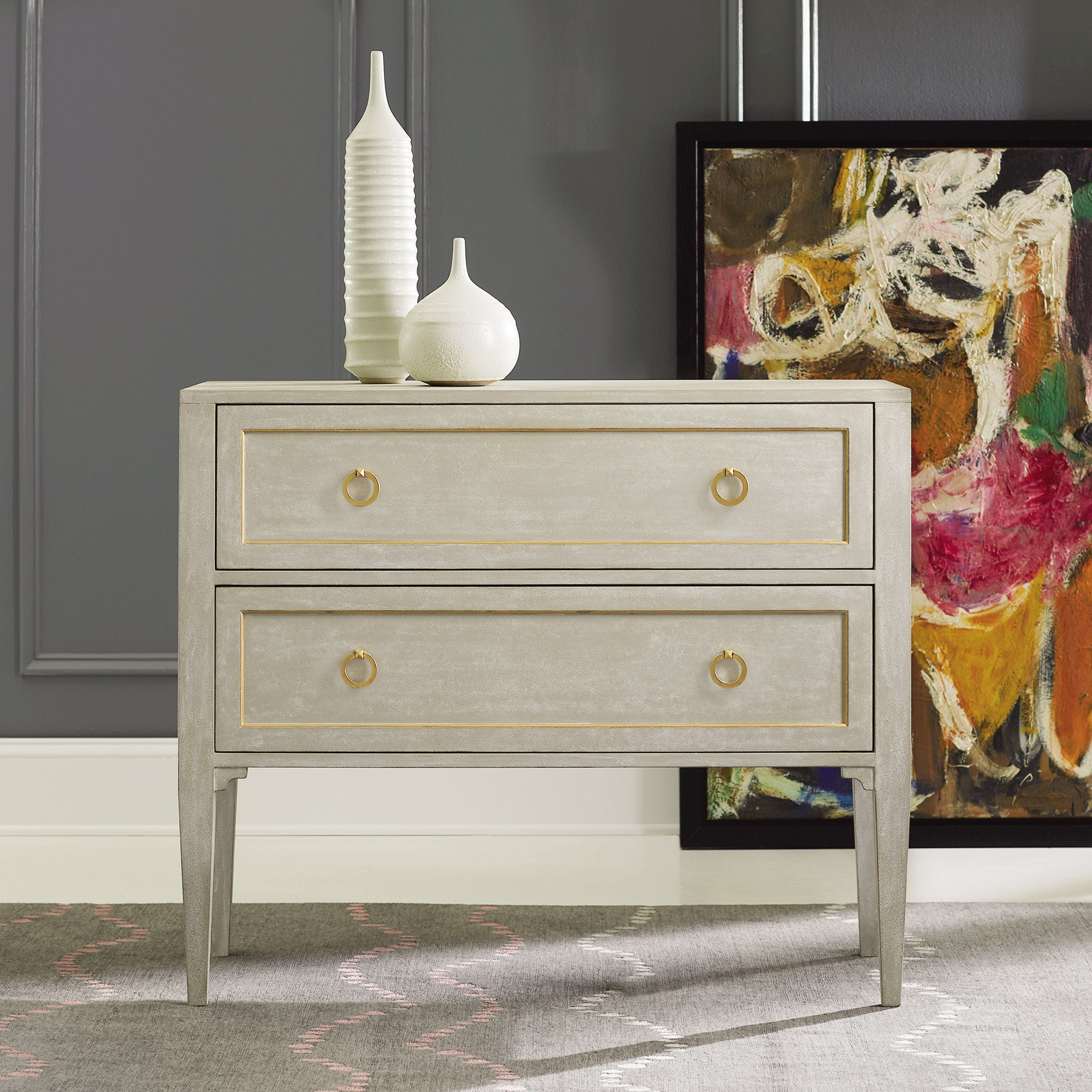 chests  english chests  british chests  contemporary chests  - gustavian two drawer chest mhf
