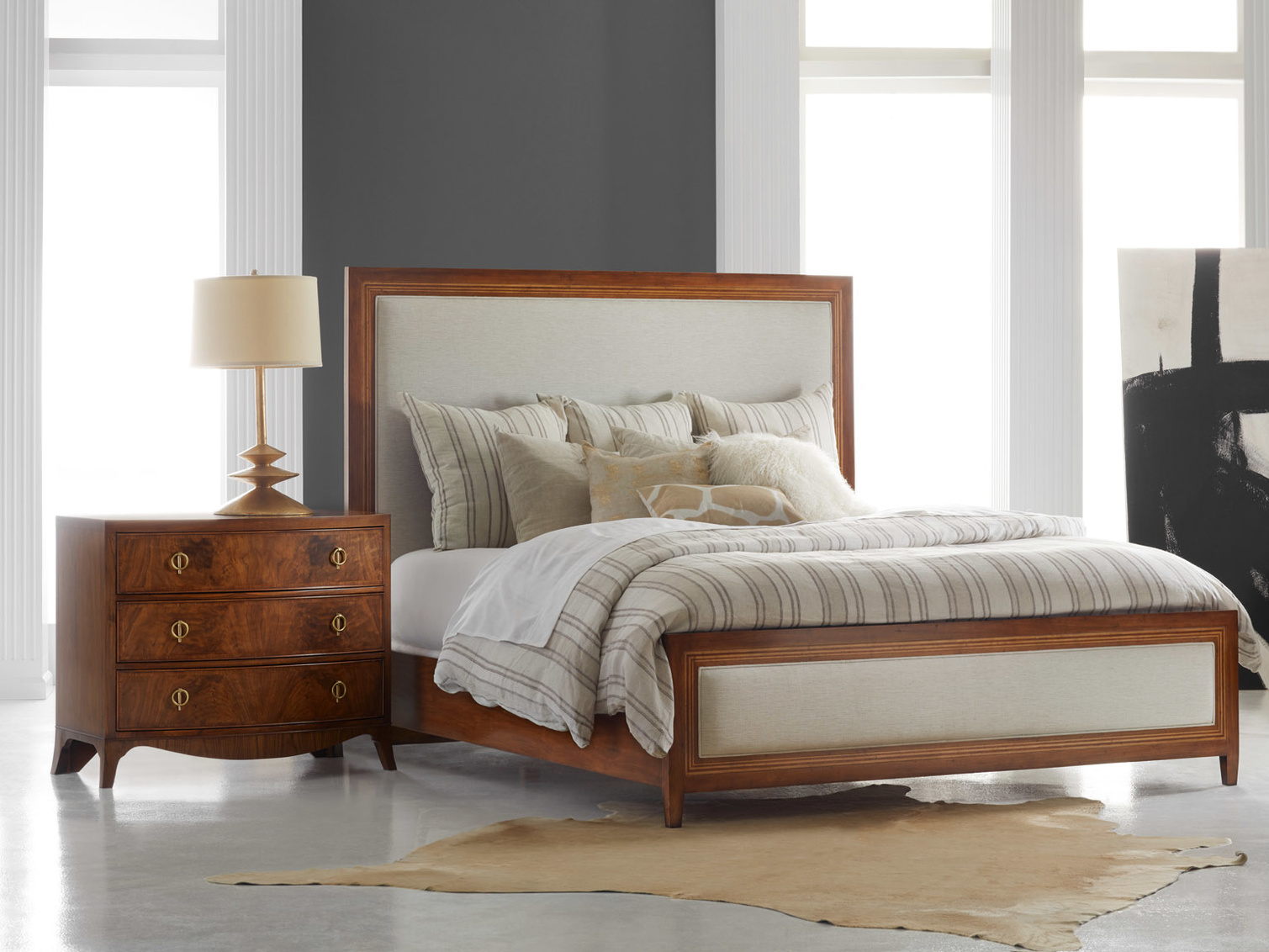 Milan Bed Queen MH924F01 Q MH924F01 K