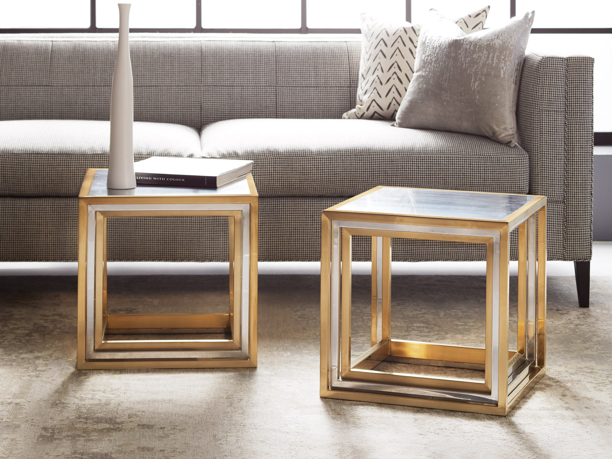 Rothko End Table End Occasional Tables Modern History
