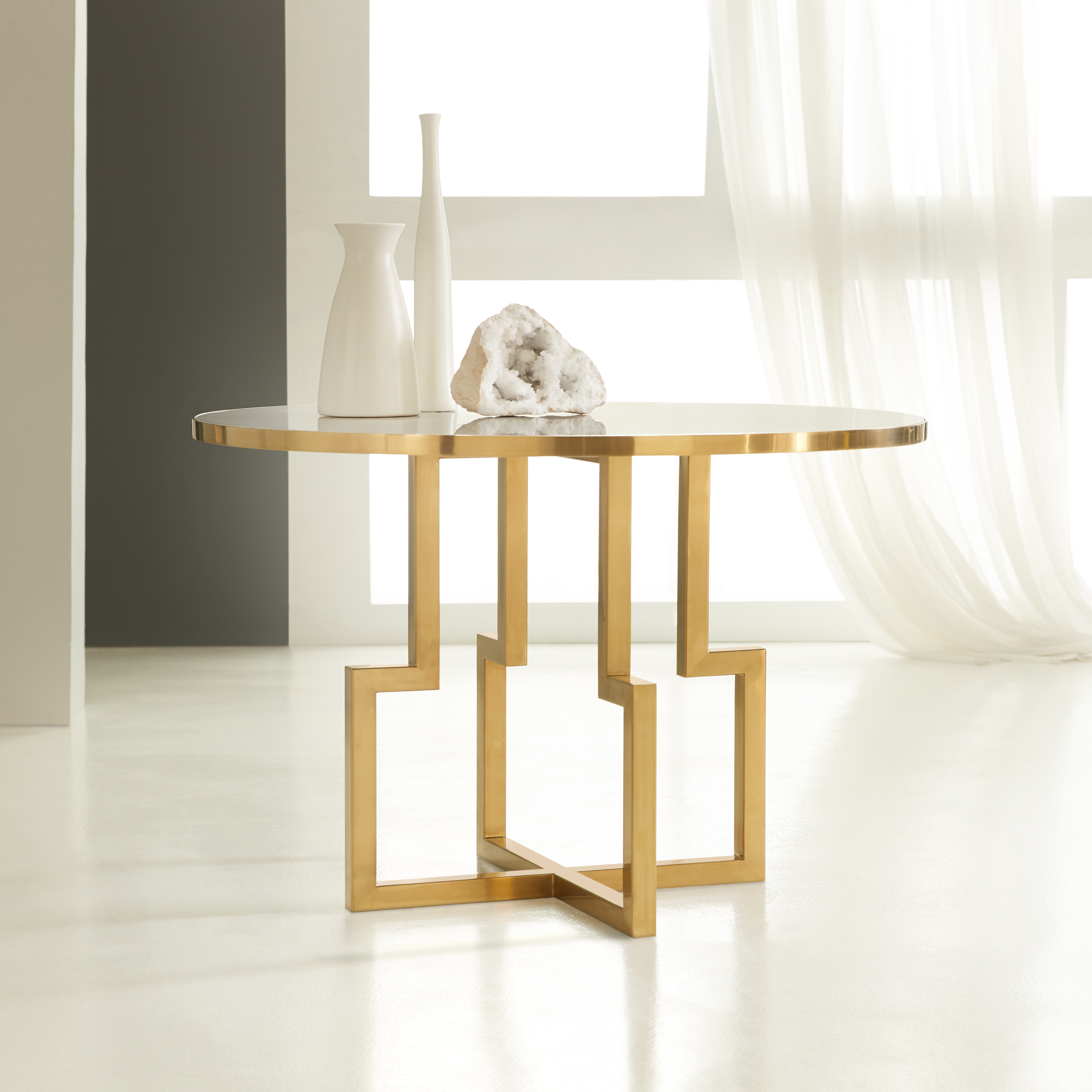Center Table White Acrylic MHX 19