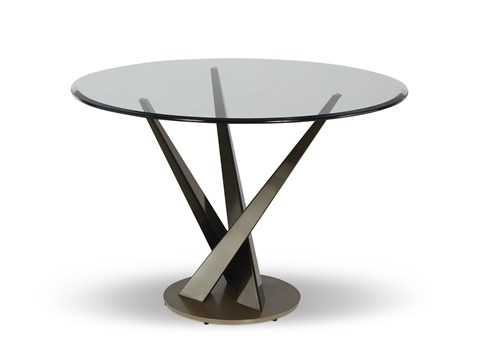 Crystal Bistro Table Base