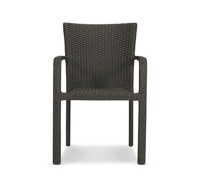 Dining Bistro Stackable Chair-Roasted Pecan