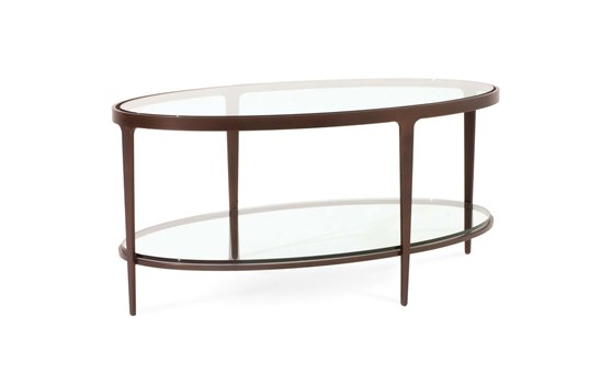 Ellipse Oval Cocktail Table