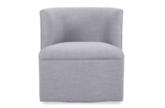 Petite Barrel Swivel Chair