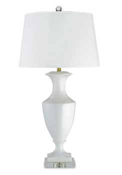 Timeless Table Lamp, White
