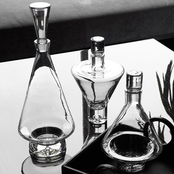 Fat Bottom Clear Decanter
