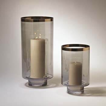 Large Twilight Hurricane Candleholder