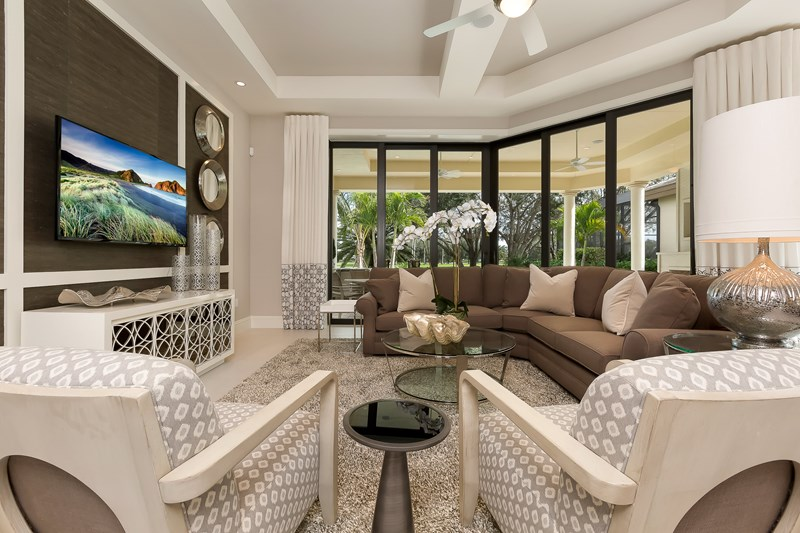 Cipriani Model Home at Quail West