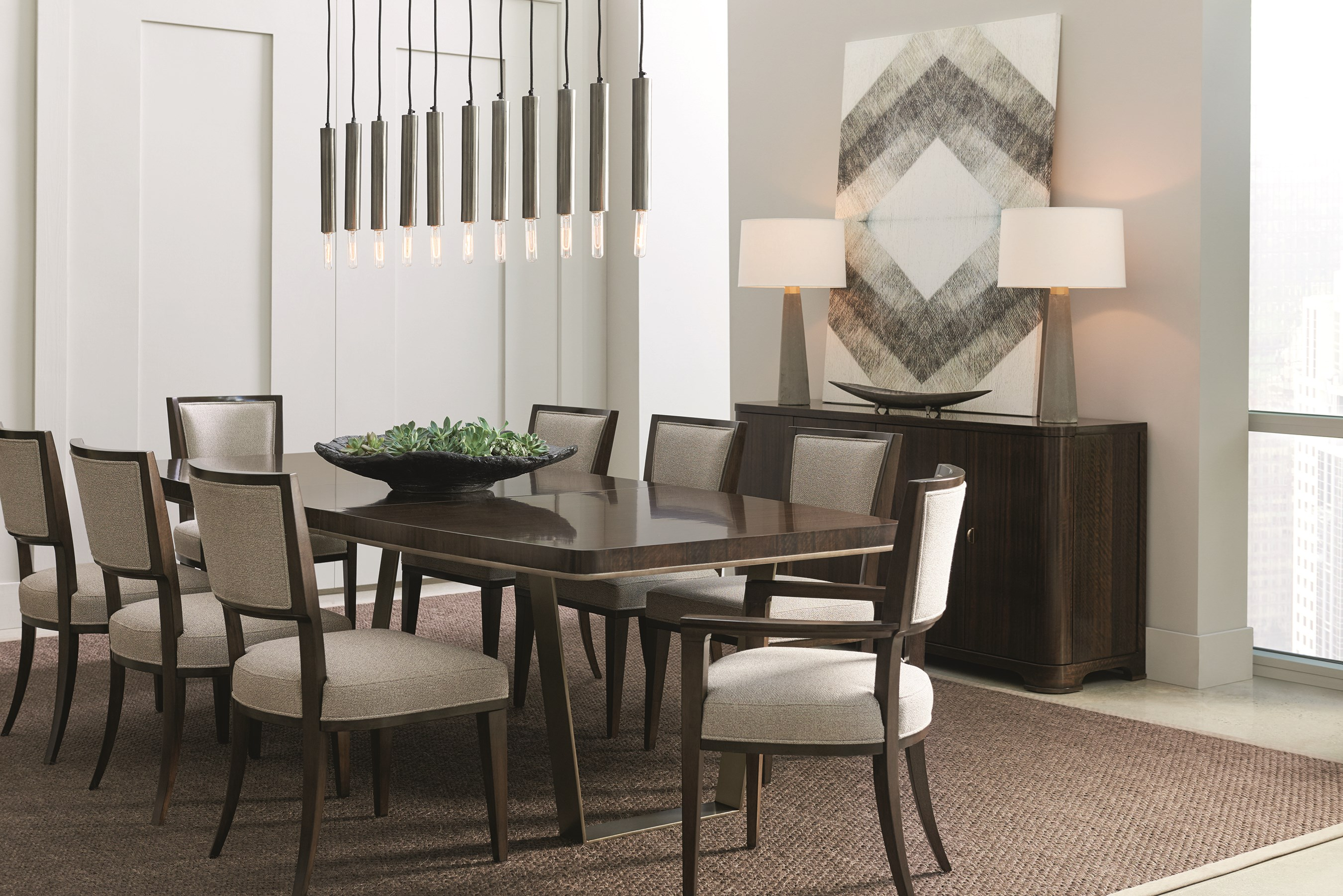 Streamline Dining Table Caracole