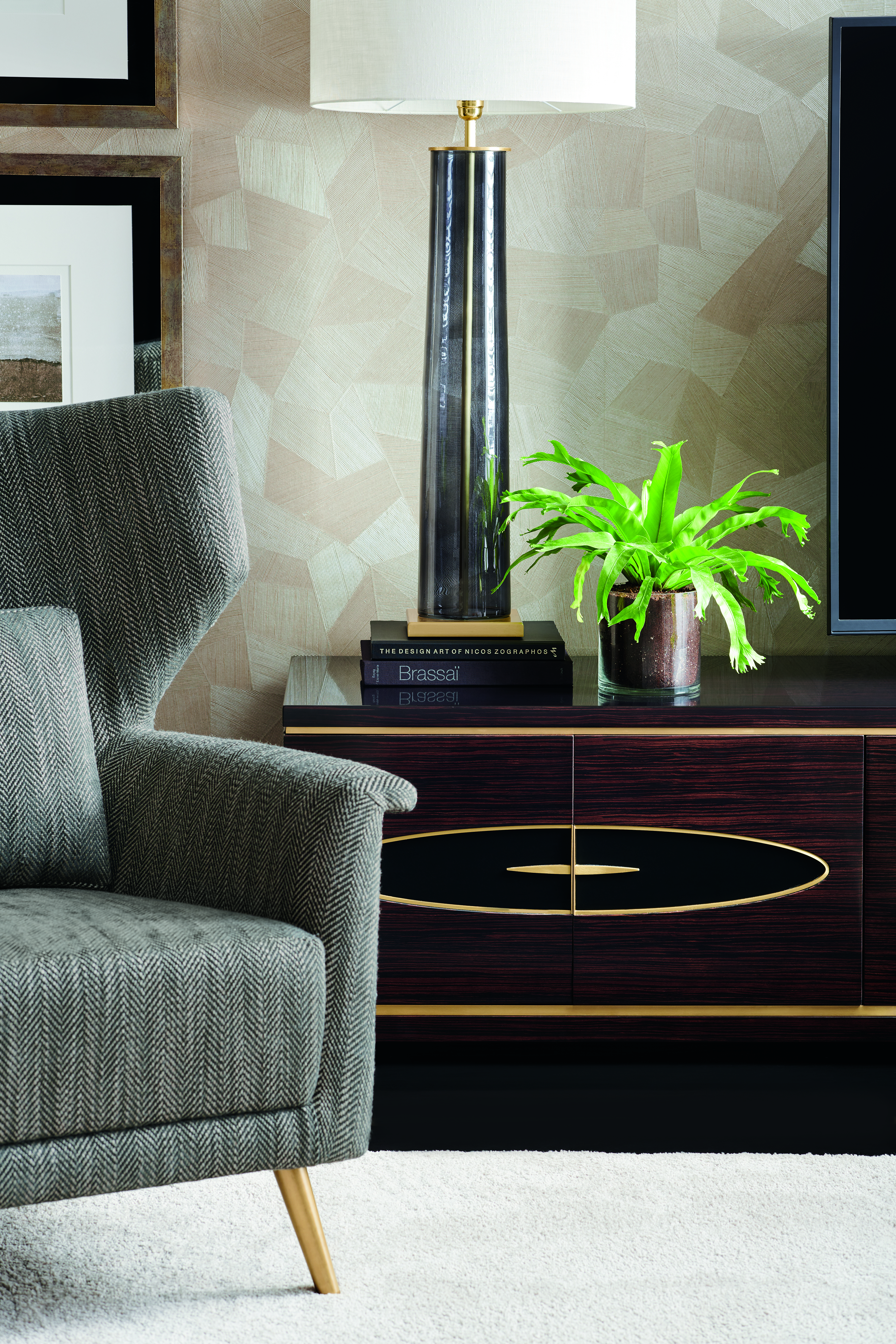 The Elemental Arm Chair Caracole