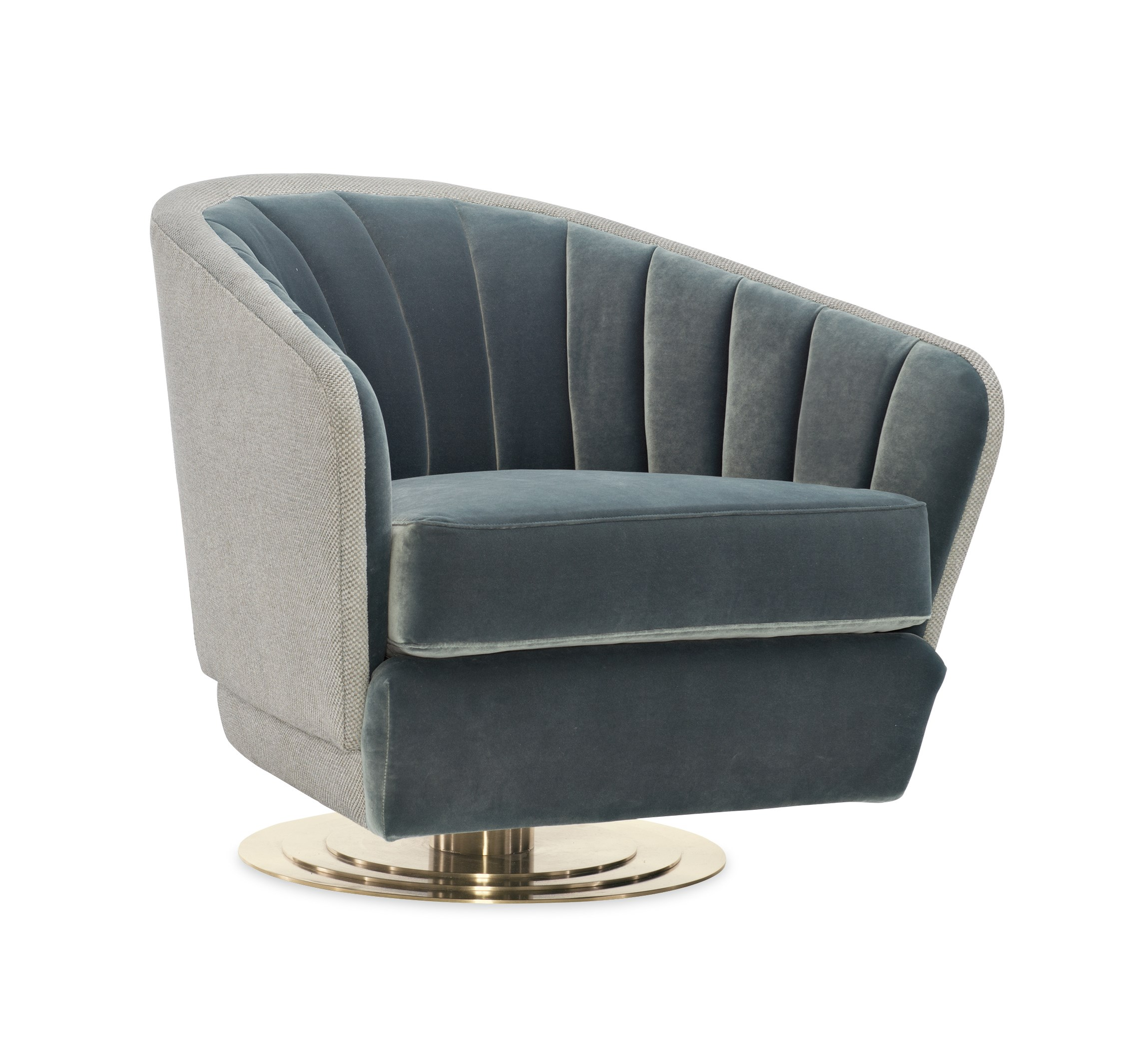 Wondrous Concentric Swivel Chair Caracole Evergreenethics Interior Chair Design Evergreenethicsorg