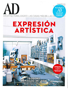 Architectural Digest Mexico, November 2016