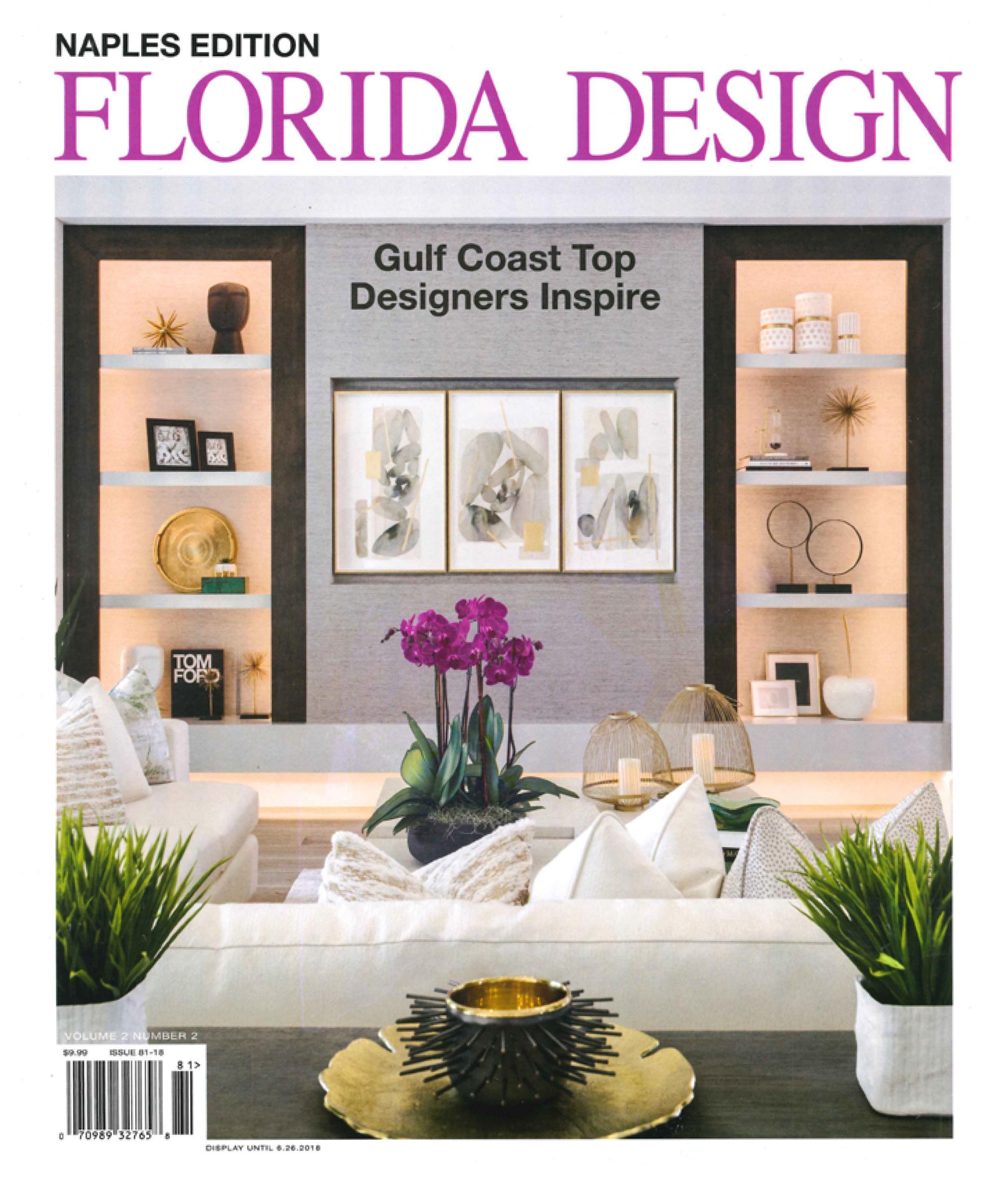 Florida Design Naples, Spring 2018