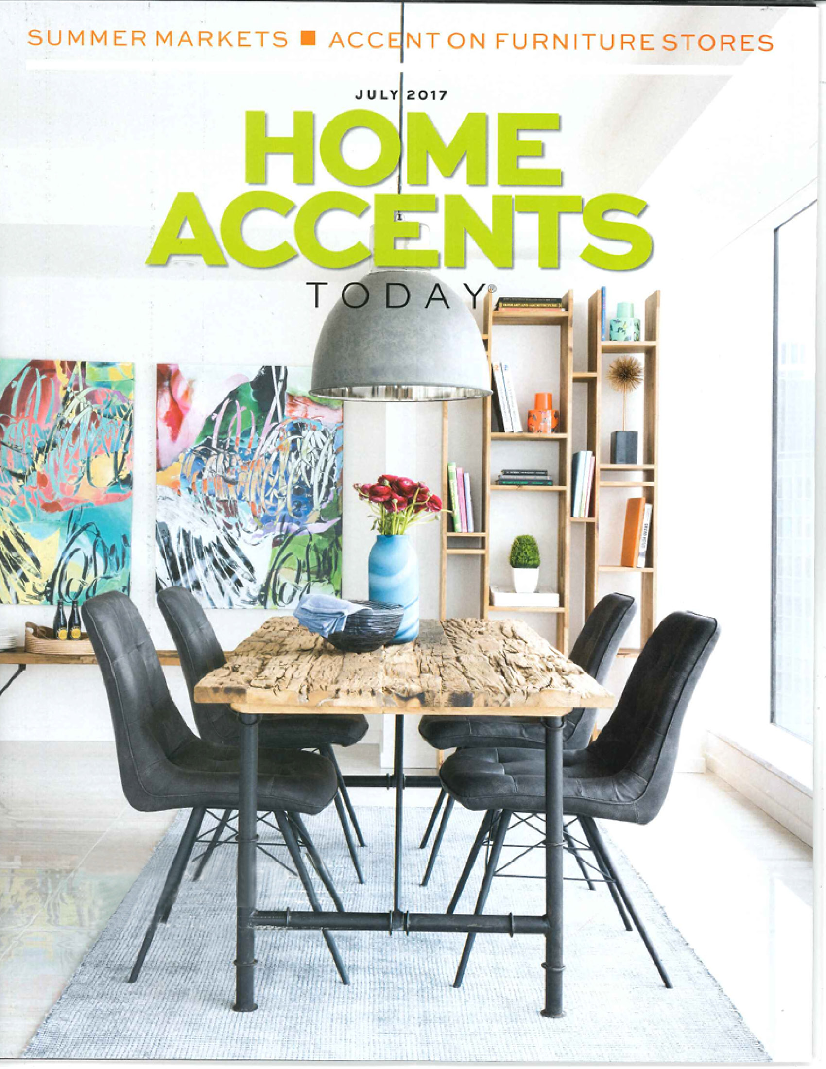 Home Accents Today, July 2017