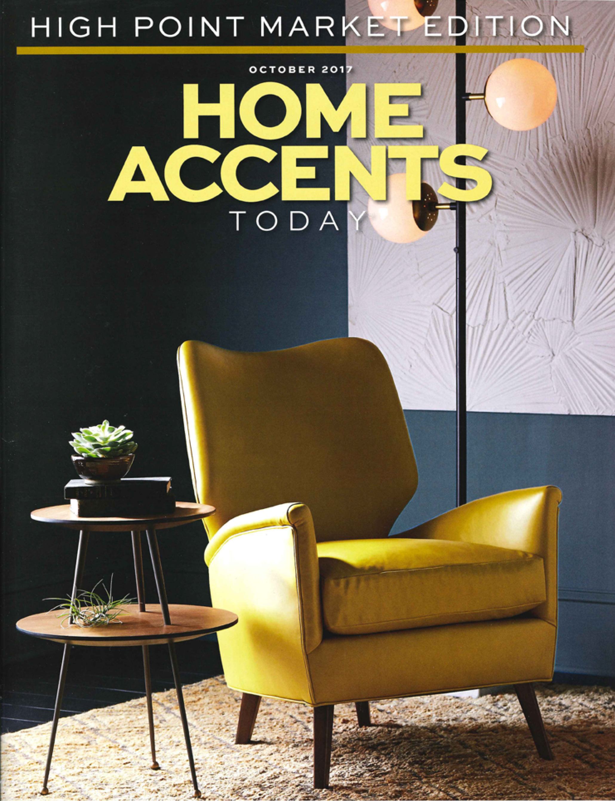 Home Accents Today, October 2017