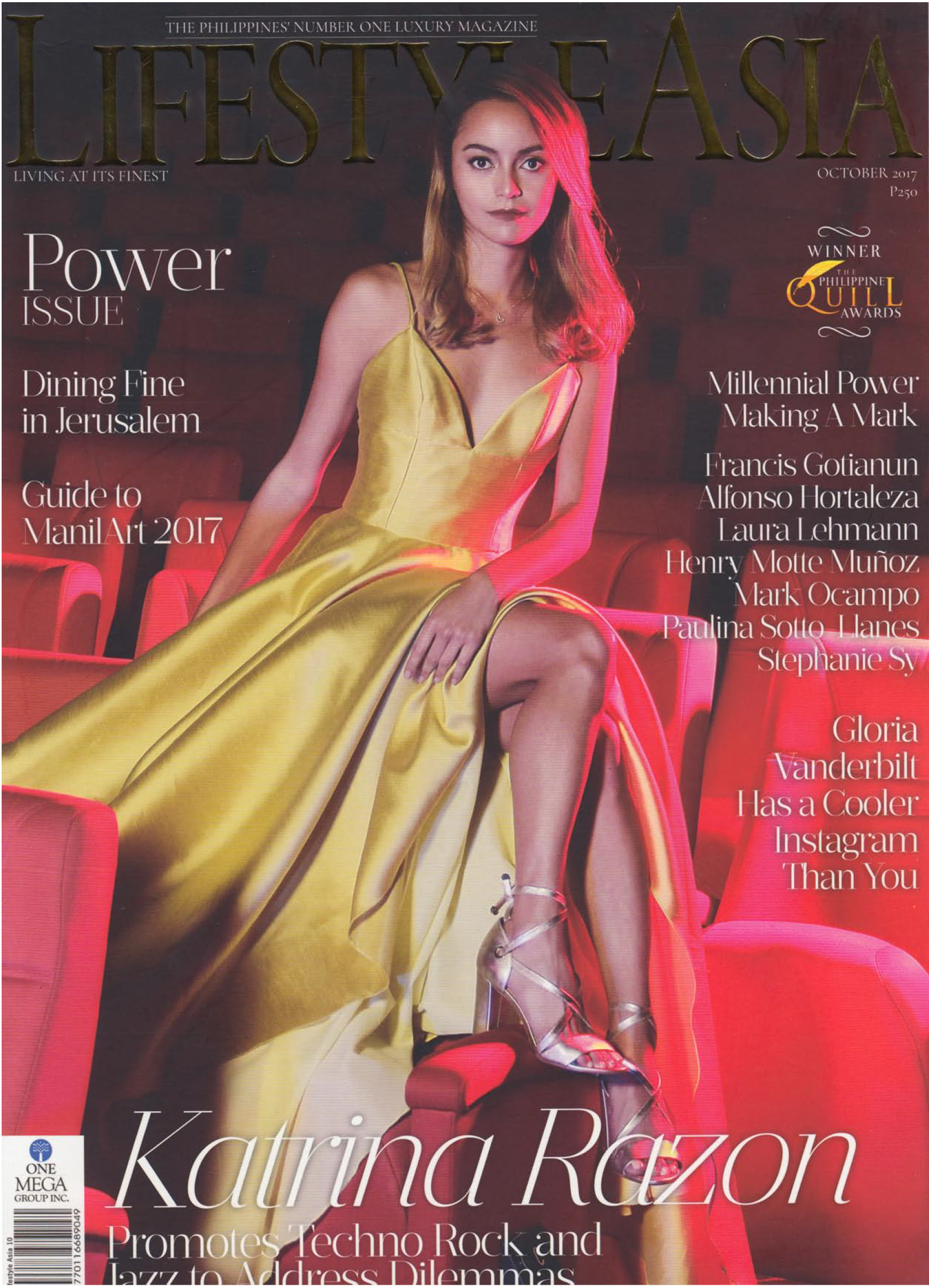 Lifestyle Asia, October 2017