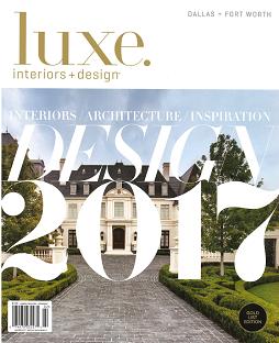 Luxe Interiors & Design Dallas, January 2017
