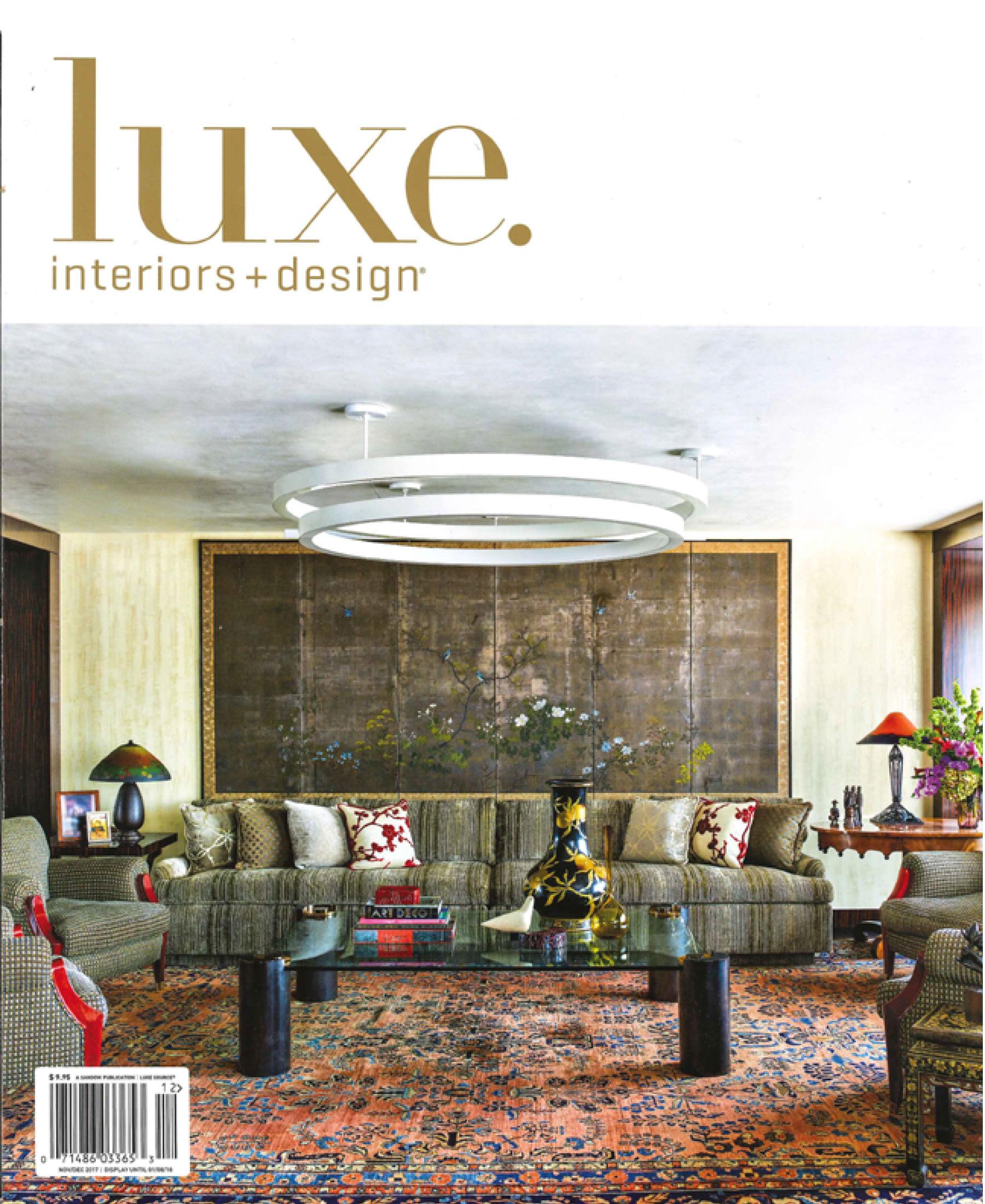 Luxe Interiors + Design National, December 2017