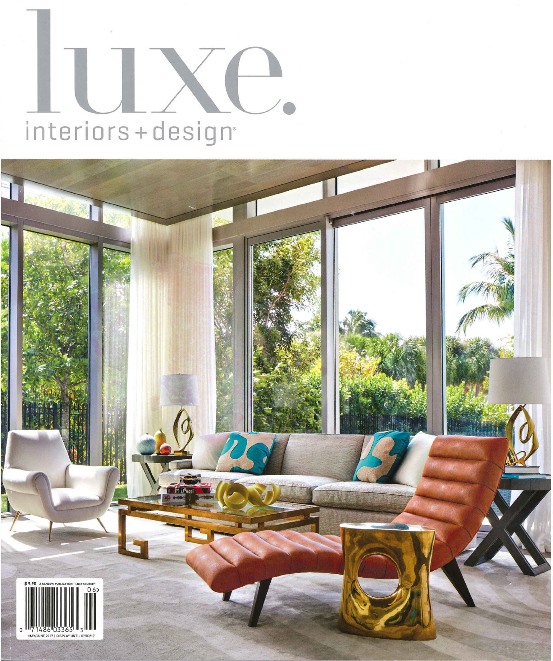 Luxe Interiors + Design, May 2017