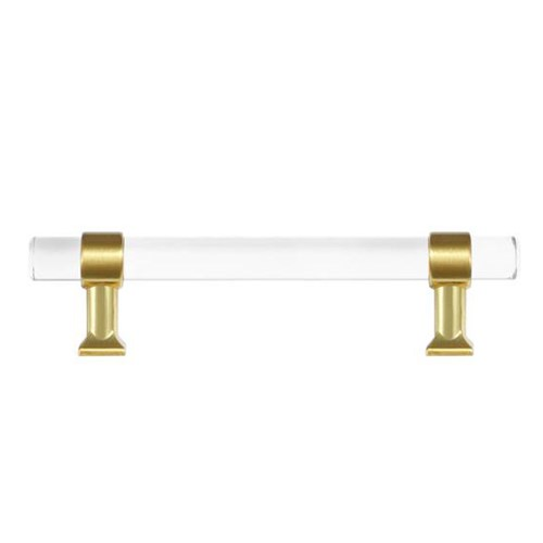 Brass & Lucite Handle