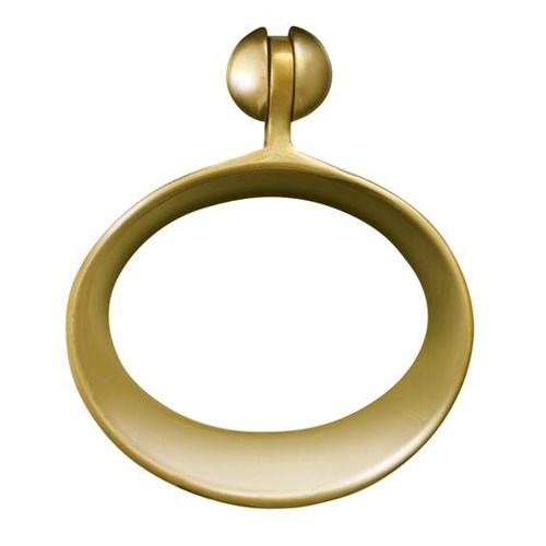 Large Brass Ring Pull