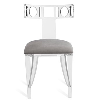 Ardsley Acrylic Klismos Side Chair