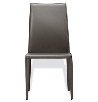 Jada High Back Dining Chair in Grey