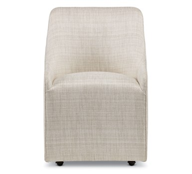 Southgate Castered Fully Upholstered Arm Chair
