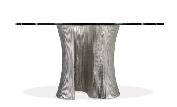 Serpentine Round Table Base