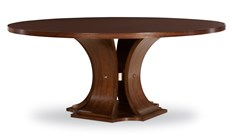 Sanford Dining Table in Brunette