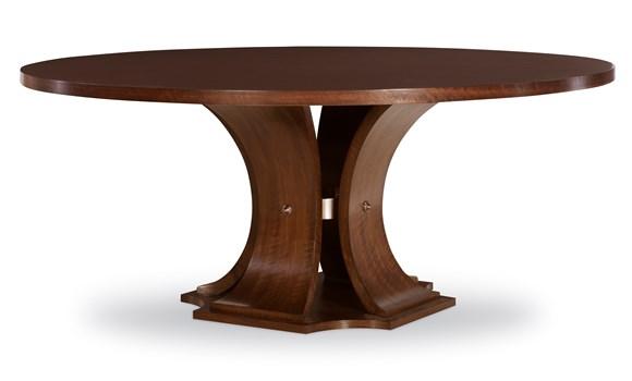 Sanford Dining Table in Brunette