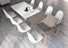 Aleal Sliding Extension Dining Table