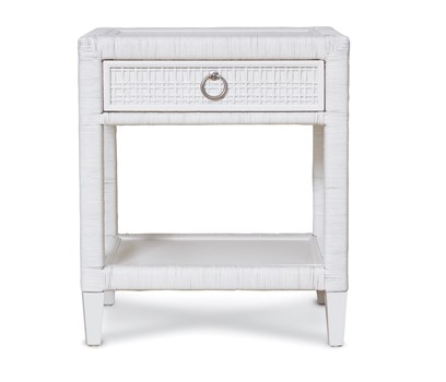Coral Bay Nightstand in Frost