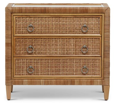 Coral Bay 3-Drawer Chest In Natural