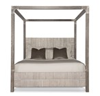 Maxime Queen Platform Wing Bed
