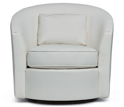 Albion Leather Swivel Chair