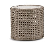 Jasper Woven Drum Table