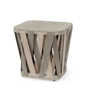 Bal Harbor Square Side Table