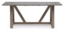 "72"" Teak Plank-Style Dining Table"
