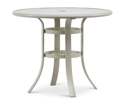 Mesler Outdoor Round Bar Table