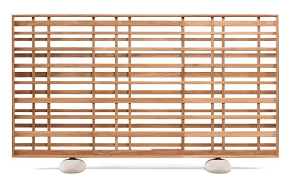 Woodland Teak Screen