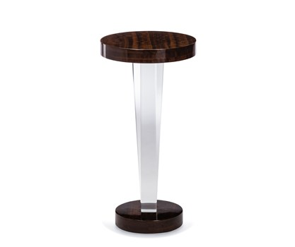 Liora Acrylic and Wood Drink Table