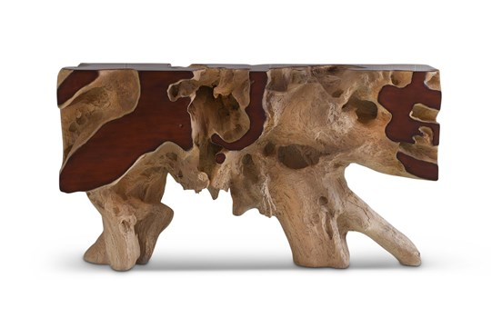 Freeform Console Table